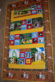 Wizard of Oz | Gorram Quilts & Wizard of Oz Dorothy Follow the Yellow Brick Road Timeless Treasures  Poppies Emerald City Adamdwight.com