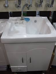 white portable kitchen sink