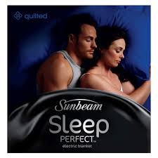 Sunbeam Sleep Perfect King Quilted Electric Blanket | Buy King ... & Sunbeam Sleep Perfect King Quilted Electric Blanket Adamdwight.com