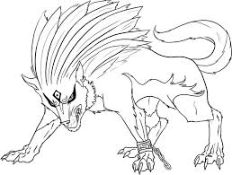 Female wolf coloring pages - ColoringStar