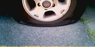 flat tire. Unique Flat FlatTire On Flat Tire