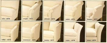 Diffe Sofa Arm Styles