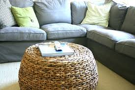 square wicker coffee table rattan ottoman ottomans round wicker storage coffee table cloth tufted leather