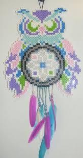 Beaded Dream Catchers Patterns dream catcher perler beads Google Search Perler bead projects 86