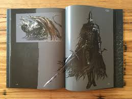 in the meantime here are a couple more photographs i took of the art book packaged in with the dark souls iii collector s edition