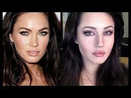 megan fox makeup transformation tutorial