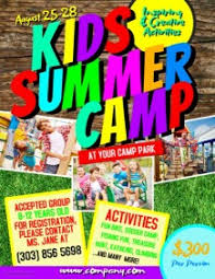 3 690 Customizable Design Templates For Kids Summer Camp Postermywall