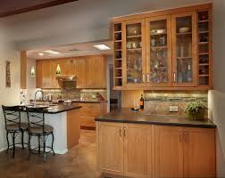 Natural Cherry Cabinets Kitchen Remodels Tucson