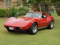 1975 Corvette Stingray ...My cousin would come get me and my ...
