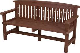 heavy duty no maintenance recycled plastic garden furniture collection gunby witton bench