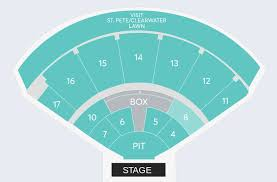 Vina Robles Seating Chart 76 Rigorous Toyota Amphitheatre Wheatland Seating Chart
