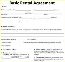 Basic Rental Agreement - Radioberacahgeorgia