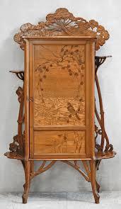 art nouveau furniture. art nouveau with inlay furniture o