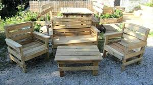 wooden pallet garden furniture. Wood Pallet Garden Table Furniture Plans Outdoor Recycled Patio . Wooden