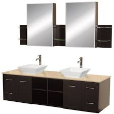 Asian Bathroom Vanity Cabinets 72 Avara 72 Espresso Bathroom Vanity Bathroom Vanities Bath