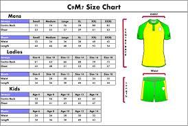 Kids Jersey Size Chart The Elastico Kids Football Sports Jerseys 36 90 Inluding