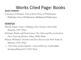 Mla Works Cited In Text Citations Ppt Video Online Download