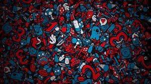 Cool Pc Backgrounds Hd - Red And Blue ...