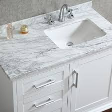 white bathroom vanities with marble tops. Creative Bathroom Inspirations: Minimalist Elegant White Vanity With Marble Top P38 In Modern From Vanities Tops I