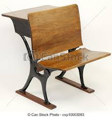 vintage metal office chair. One Vintage Metal And Wood School Desk Chair Combination With A In Back The Front. Office E