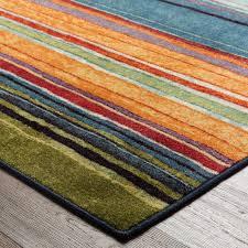 rainbow multi rug