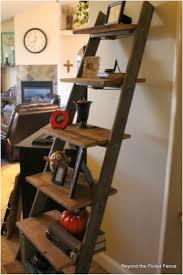 Best 25+ Old ladder shelf ideas on Pinterest | Wooden ladders, Wooden ladder  shelf and Ladders