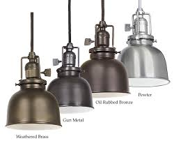 jvi designs 1200 m2 union square mini 5 inch diameter metal shade vintage pendant light loading zoom