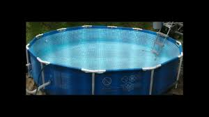 12x30 intex metal frame pool