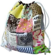 Drawstring Bag Pattern Beauteous How To Make A Drawstring Bag Sew Mama Sew
