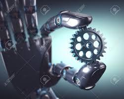 Mechanical Engineering Robots Stock Illustration