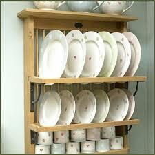 diy plate rack cozy cabinet shelf inside fine