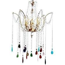 multi colored chandelier lighting multi colored crystal chandelier gold chandelier with multi colored beads and nursery