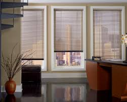 Solar Shades  an excellent urban or loft window treatment