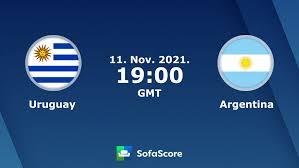 Uruguay - Argentina Live ticker, H2H und Aufstellungen