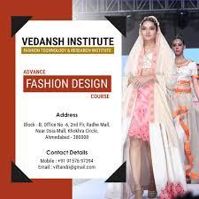 Institute Of Fashion Design In Ahmedabad Vedansh Institute Of Fashion Technology Research Institute