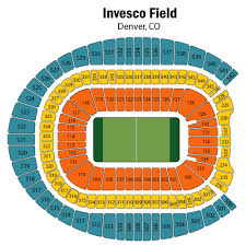 Mile High Stadium Seating Chart Views And Reviews Denver