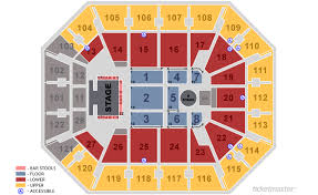 Casey Plaza Seating Chart Mohegan Sun Arena Seating Chart With Rows And Seat Numbers