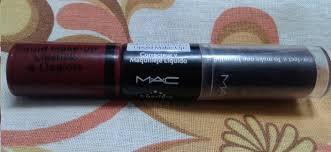 mac liquid makeup lipstick and lip