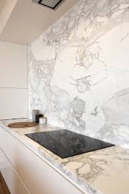 Fabulous Calacatta Marble benchtop and splashback. Home by ...