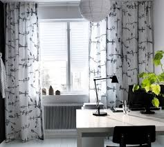 Ikea Living Room Curtains Black And White Curtains Ikea Inspiration Rodanluo