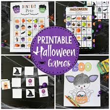 Printable Kids Cute Printable Halloween Games For Kids Fun Squared