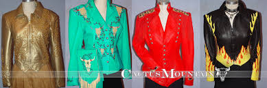 women s leather jackets handmade fringed deerskin concho beaded jackets