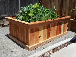 cedar garden box. Raised Cedar Garden Bed Designs Box