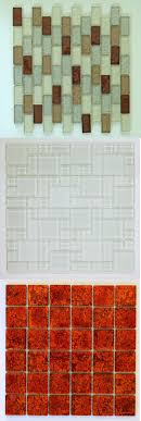 glass mosaic tile sheets glasosaic tiles canaan glass mesh mounted clear glass