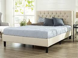 tufted platform bed. Home Tufted Platform Bed