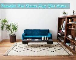 beni ourain moroccan rug bringing out the pleasant look