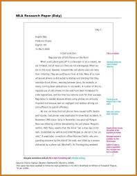 Research Essay Example Mla Mla Mla Research Paper Outline