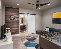 Pic Of Living Room Designs Most Family Friendly Space Doors Rec Rooms And Dart Board