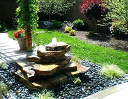 modern outdoor water fountain fountains beautiful patio large