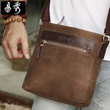 Eshow Men Brown Canvas Small Messenger Bag Crossbody Bag Shoulder Bag  vintage men bags BFK010741-in Crossbody Bags from Luggage   Bags on  Aliexpress.com ...